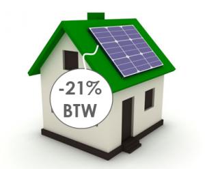 zonnepaneel huisje 21procent