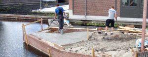 betonvloer storten kosten